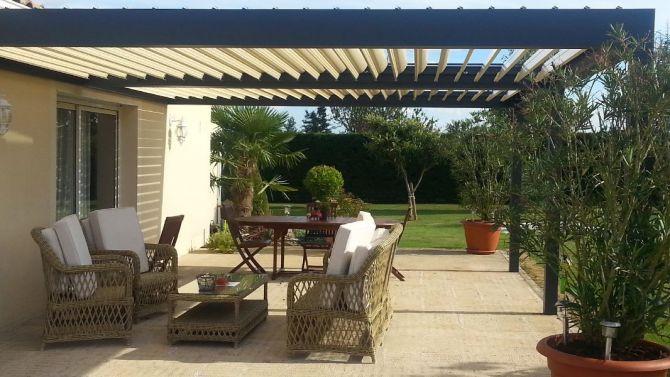 couverture pergola etanche affordable tente de rception x murs pratik garden with couverture. Black Bedroom Furniture Sets. Home Design Ideas